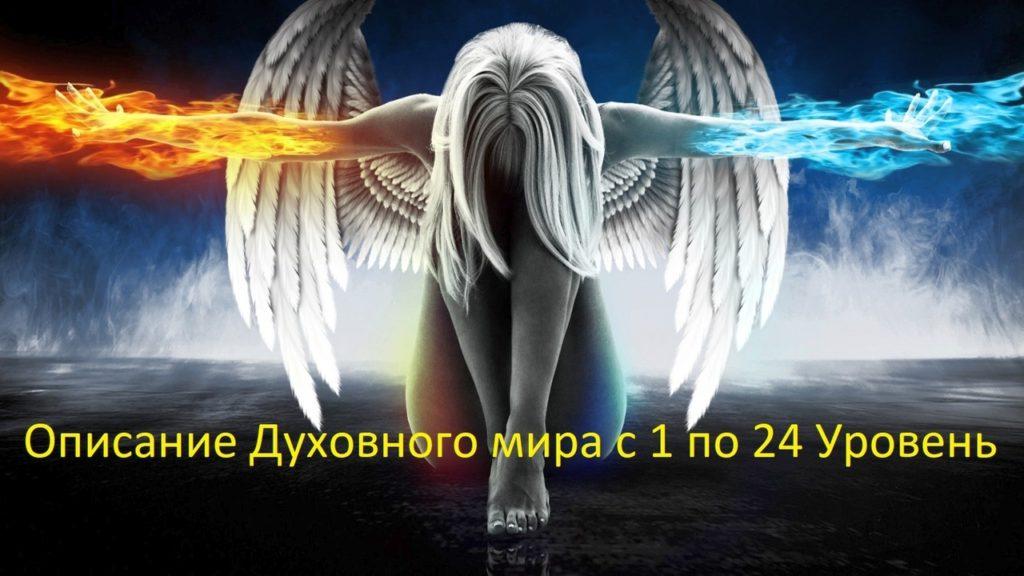 Иерархия Мира невоплощённых Духов